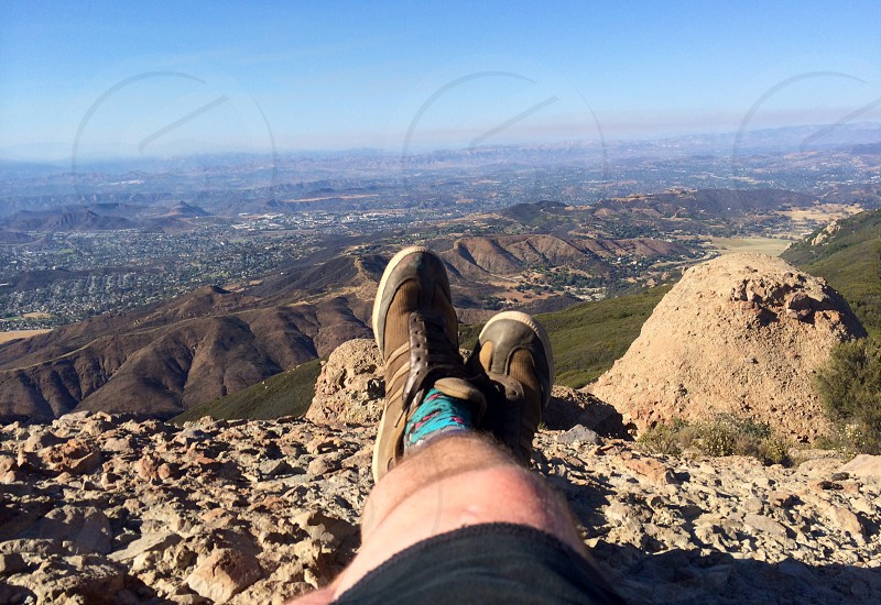 Boney Mountain California  photo