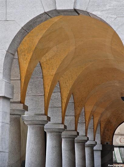 Italian courtyard photo