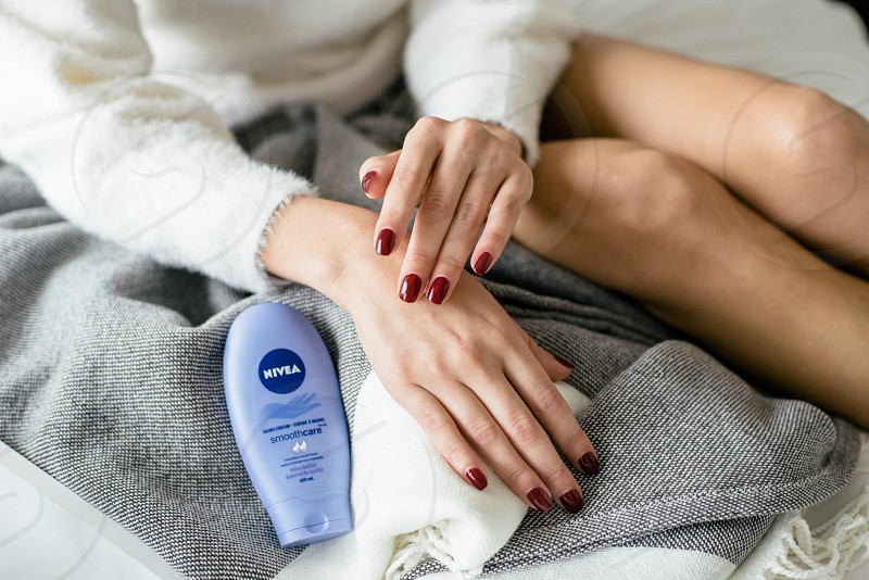 Lifestyle skincare beauty products photo