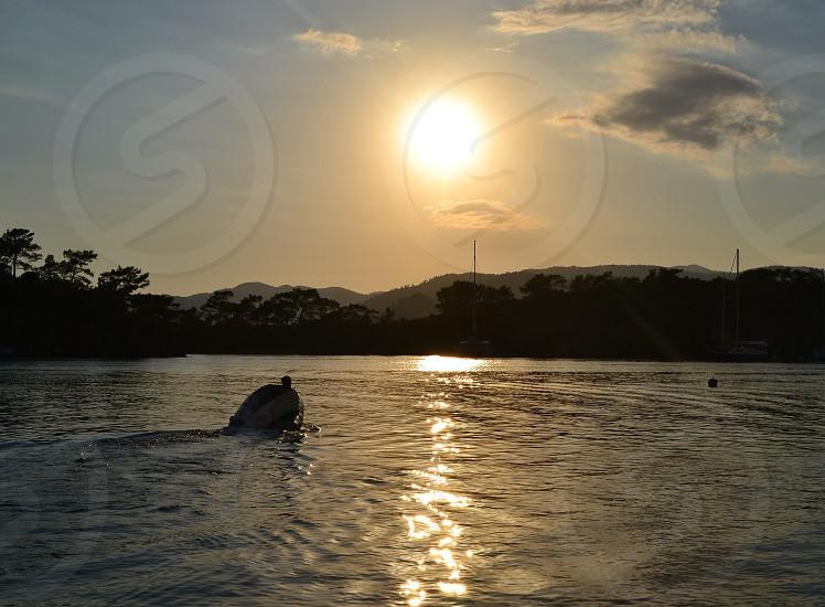 Gocek - Turkey - sunset - holiday - sea  photo