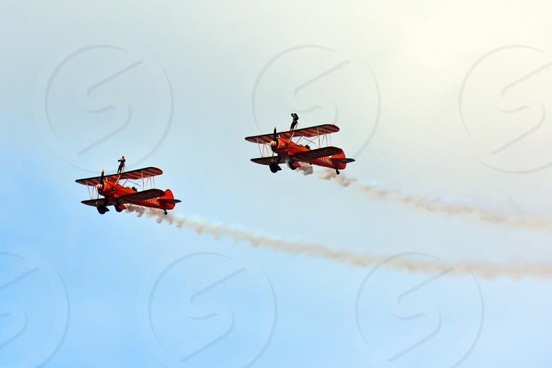 Bi-plane Wing Walkers  photo
