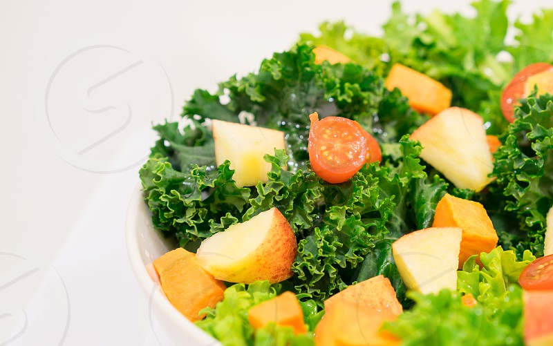 Health green - Fresh Kale photo