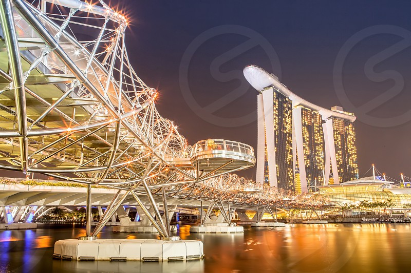 Helix Bridge Singapore photo