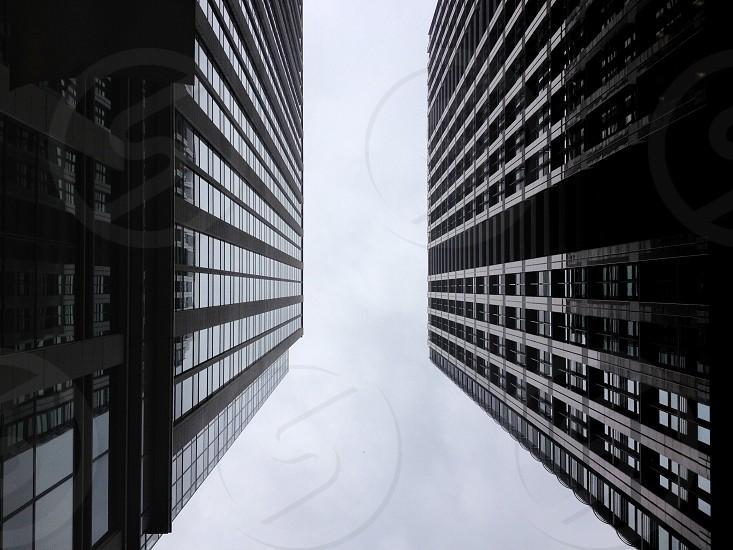 gray multi storey buildings photo