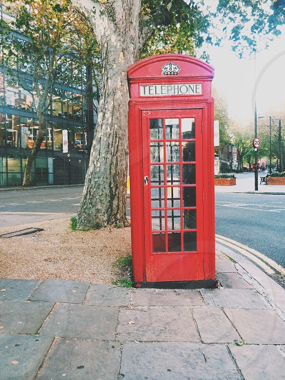 London telephone box photo
