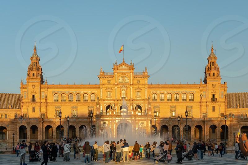 Plaza de España photo