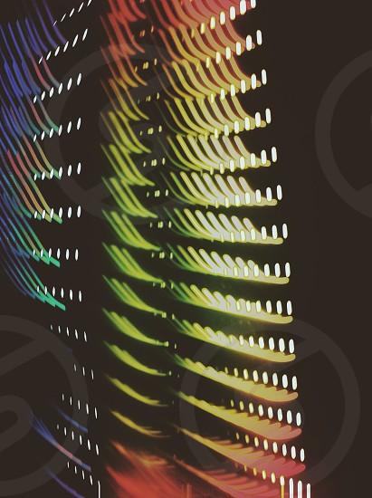 multicolored window photo
