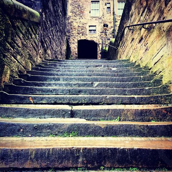 Edinburgh old town photo