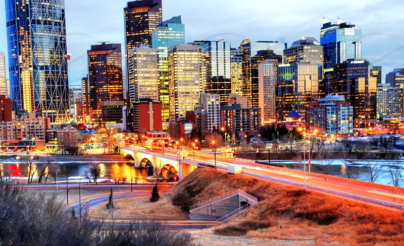 Calgary downtown Calgary AB Canada. photo