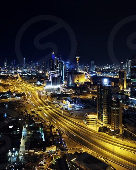 Kuwait City - Night photo