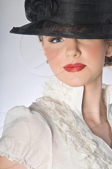 fashion portrait model editorial face skin hair make up avant guarde trendy hip female woman women glamour photo