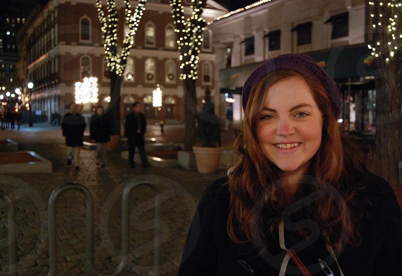Smiling Bostonian photo