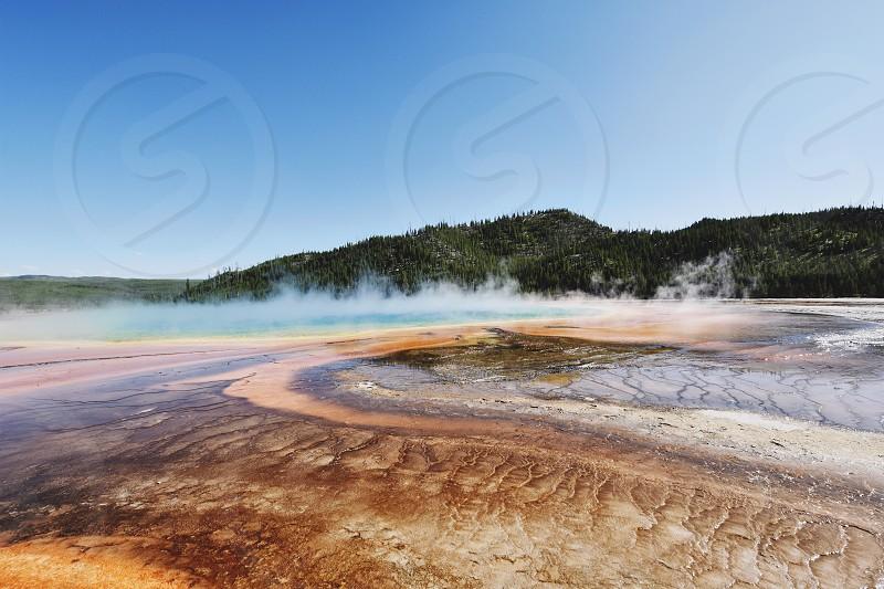 National Park volcanic color vibrant  photo