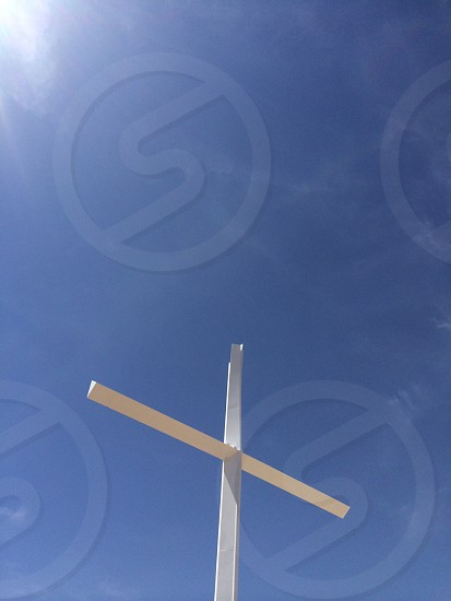 white cross photo