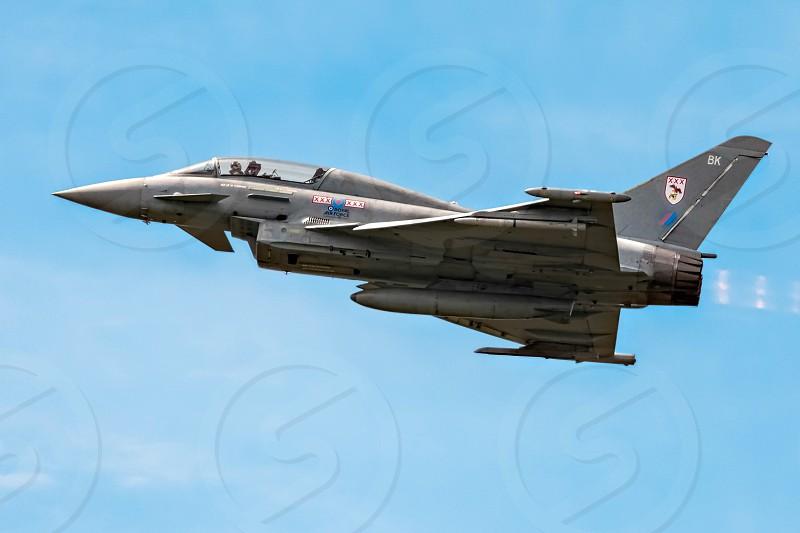 Eurofighter Typhoon Aerial Display at Biggin Hill Airshow photo