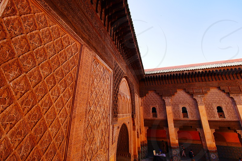 Ben Youssef Madrasa - Marrakesh photo