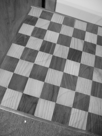 wooden chess board photo