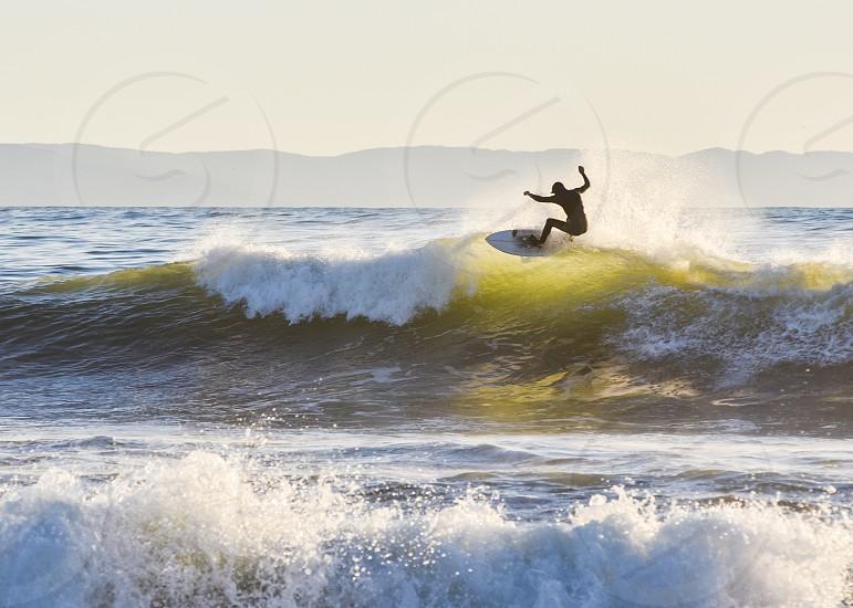 surf surfer wave ocean sea sport photo