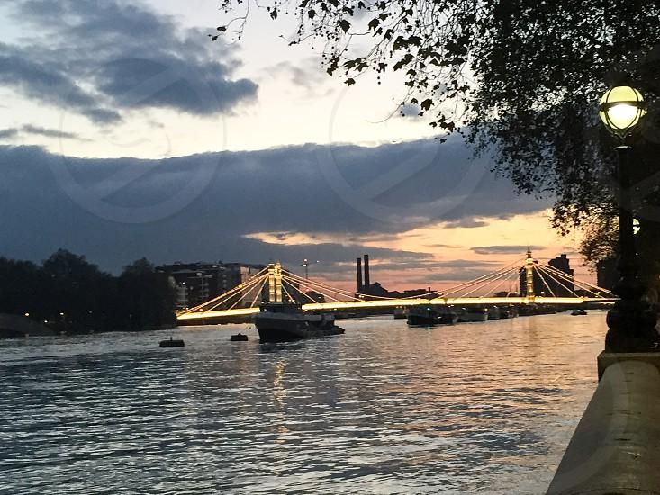 Albert bridge London  photo