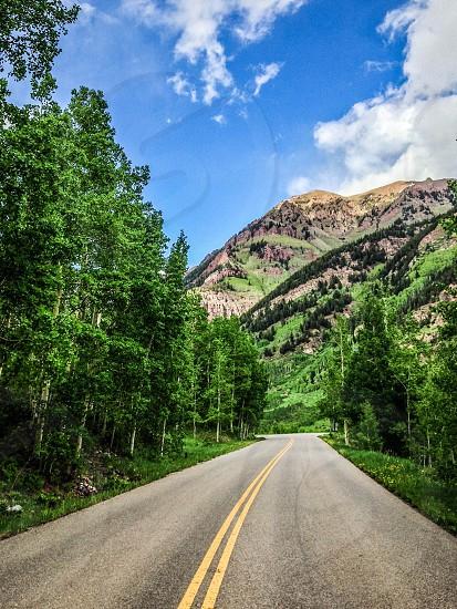 Summer Mountain Road photo