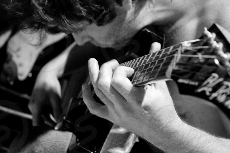 Guitar singer singing songwriter musicians lyrics  photo