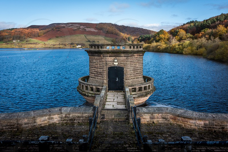 Ladybower reservoir. photo