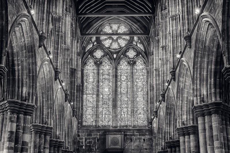 Inside Glasgow Cathedral. photo