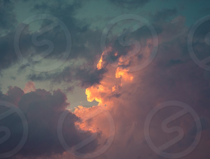 GLOWING CLOUDS photo