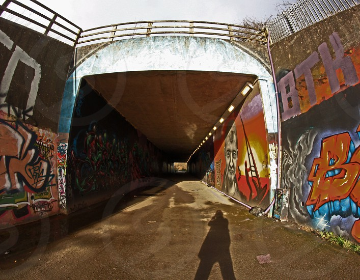 Graffiti in Wakefield UK   photo