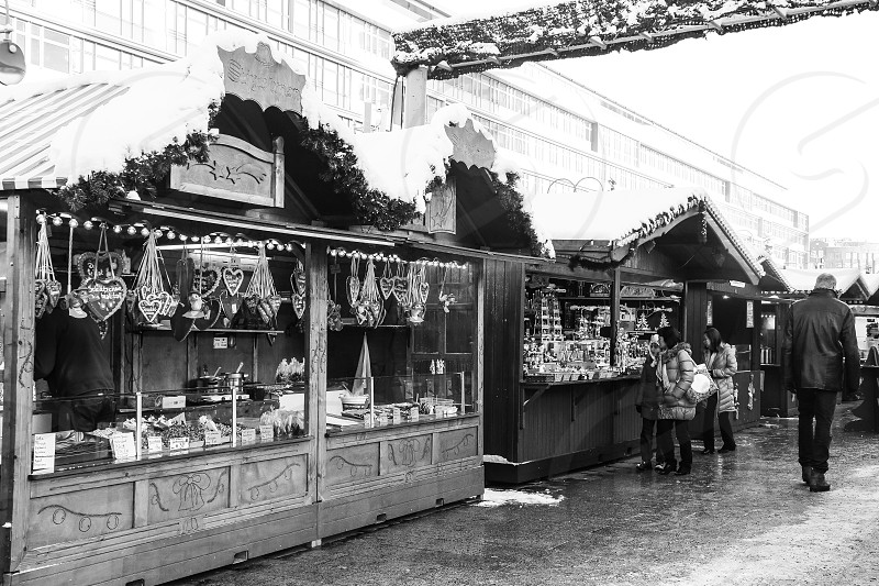 Kurfürstendamm  Christmas  market photo