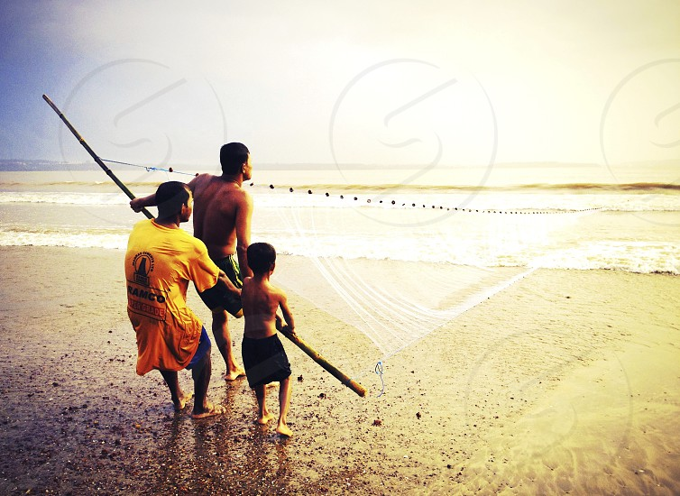 Last catch of the day- Goa India photo