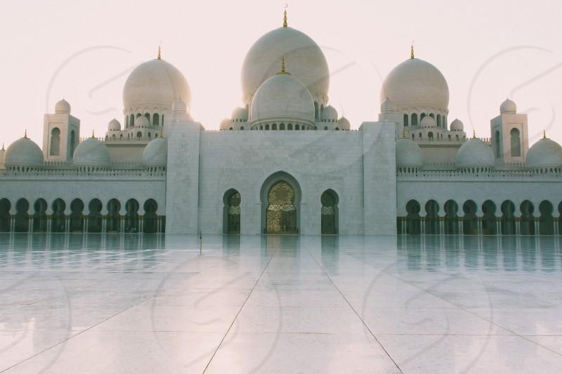 Sheikh Zayed Mosque - Abu Dhabi photo