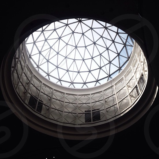 white inside the dome view photo