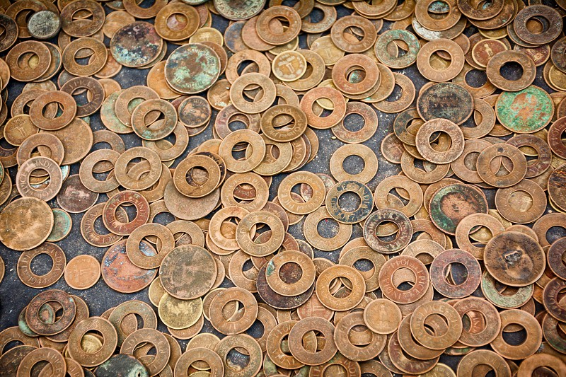 Foreign Ancient Copper Coins photo
