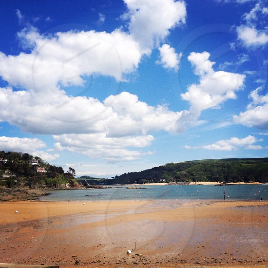 Salcombe beach north sands  photo