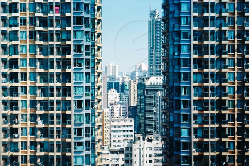 aerial photography of high rise buildings during daytime photo