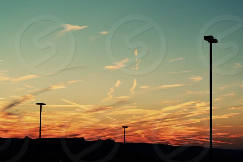 Monument Valley Sunset photo