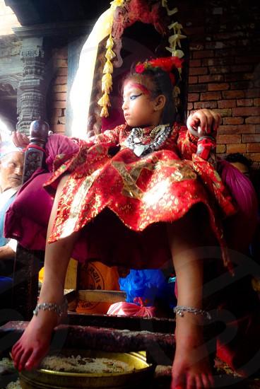 Kumari Goddess photo