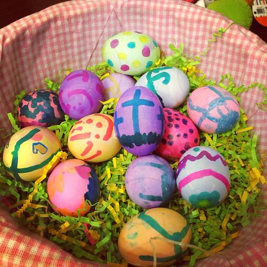 Diversity Easter eggs  photo