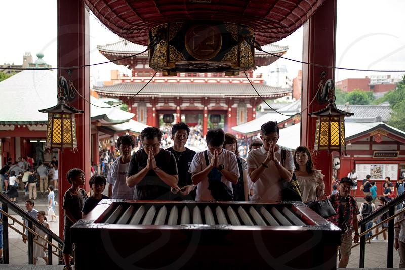 Asakusa senso-ji temple Tokyo Japan photo