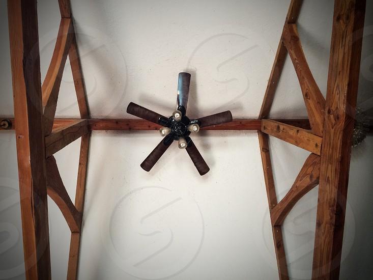 Interior ceiling fan fan minimal  photo