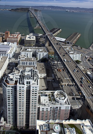 white high rise building  photo