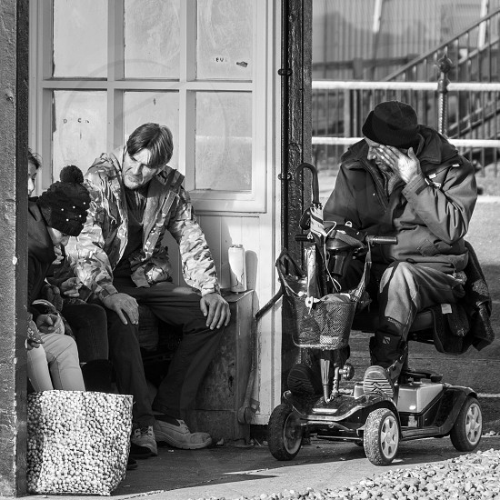 WORTHING WEST SUSSEX/UK - NOVEMBER 13 : Daily life in Worthing West Sussex on November 13 2018. Unidentified people. photo