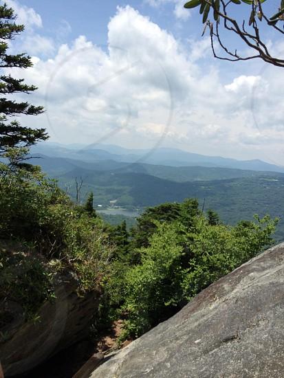 Climbed grandfather mountain. photo