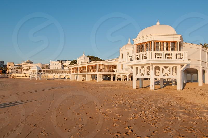La Caleta beach Cádiz. photo