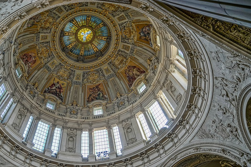 Detail of the Ceiling in Berlin Cathedral photo
