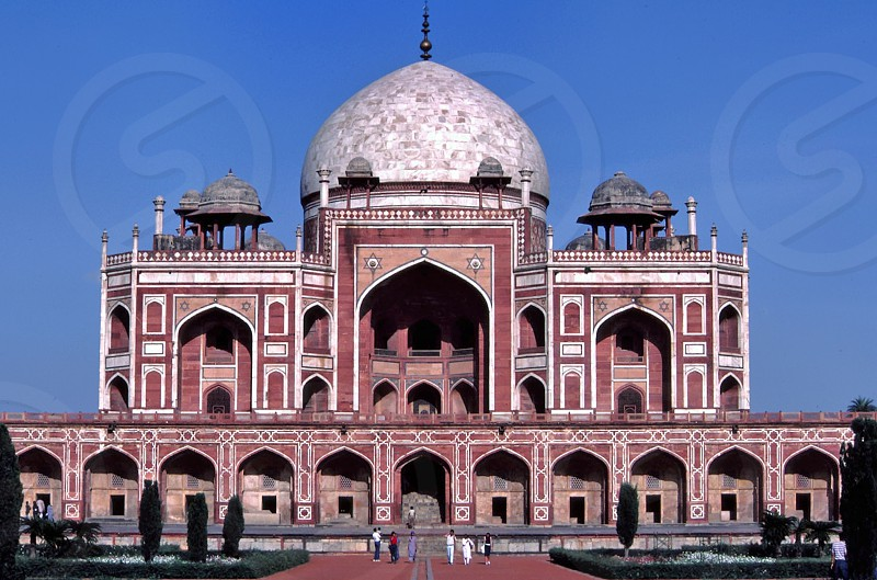 Humayun's Tomb Delhi India monument Mughal architecture photo