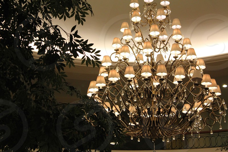 The hotel where we stayed. With the big chandelier. photo