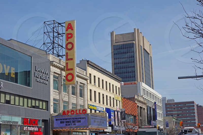 The Apollo Theater cinema in New York City photo