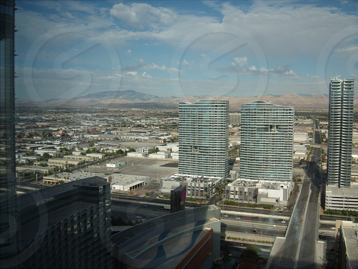 View from hotel in Las Vegas  photo